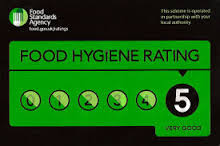 Sussex Spit Roast Food Hygiene Rating is a 5